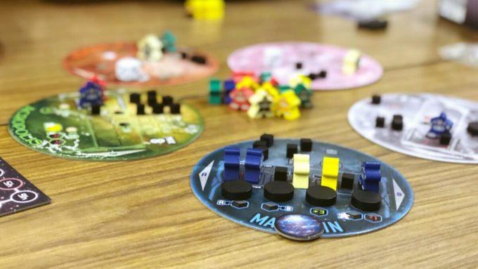 ボードゲームのソラシノビ