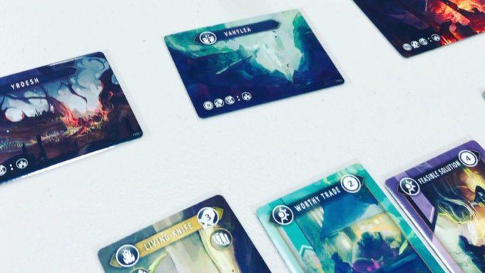 カードゲームのヴォルフィリオン
