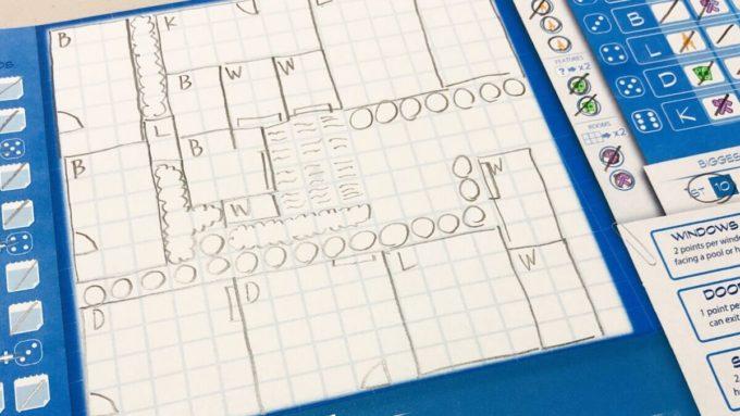 ボードゲームのFloor Plan