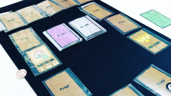 カードゲームのトラップダンジョン