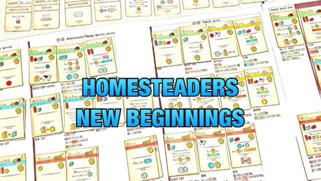 homesteaders new beginnings