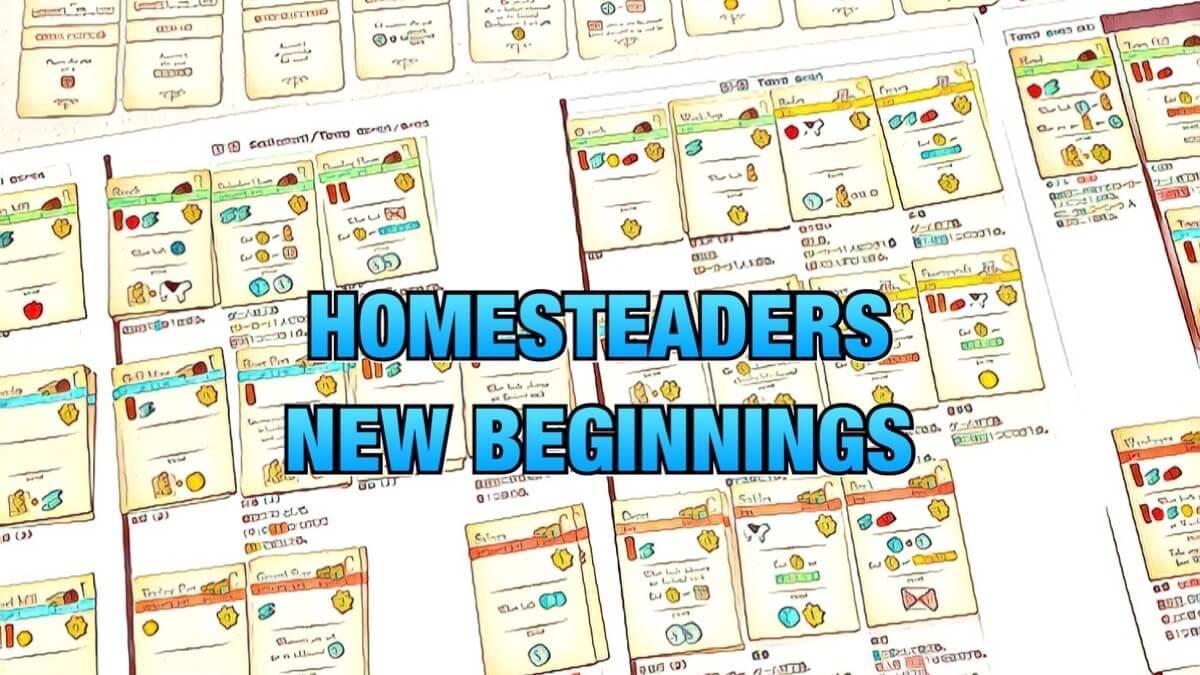 homesteaders new beginnings