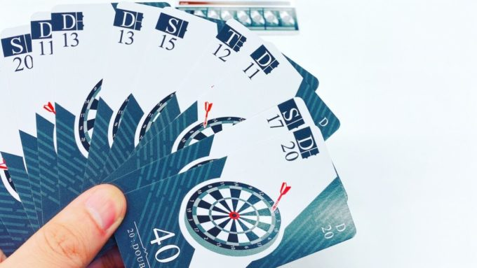 カードゲームのナイスダーツ