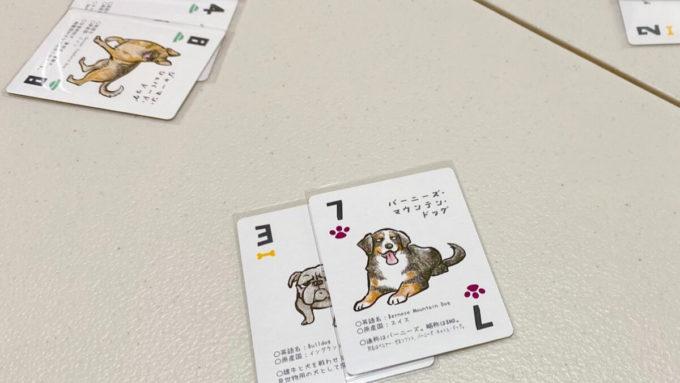 カードゲームのドッグタッグトリック