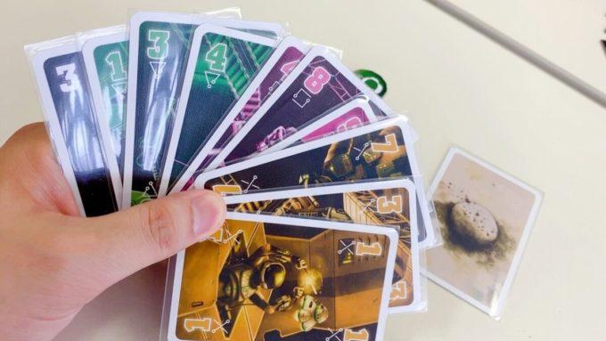 カードゲームのザ・クルー