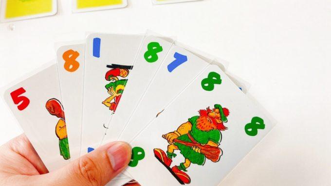カードゲームのショッテントッテン