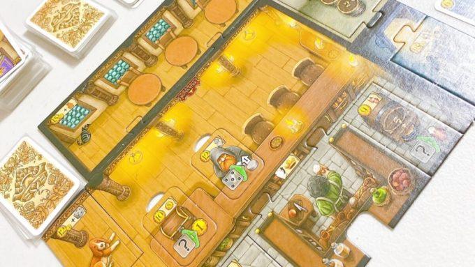 ボードゲームのティーフェンタールの酒場