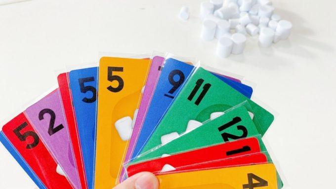 カードゲームのマシュマロテスト