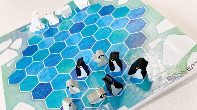 ボードゲームのThe Arctic