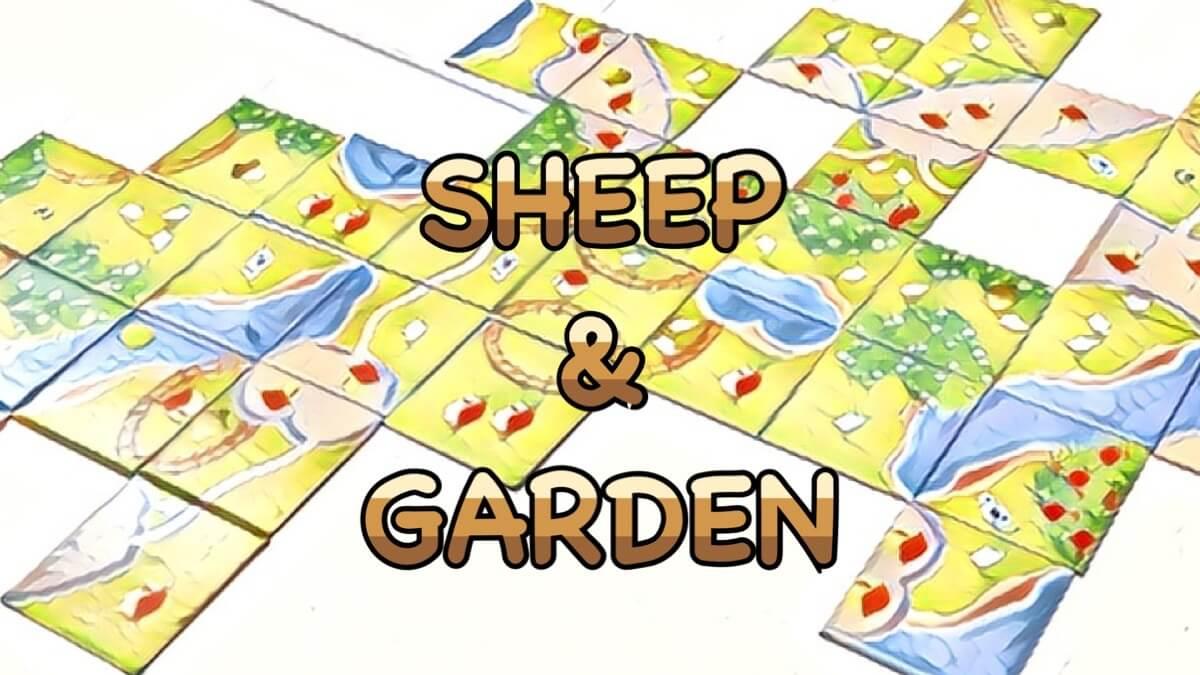 sheep & garden