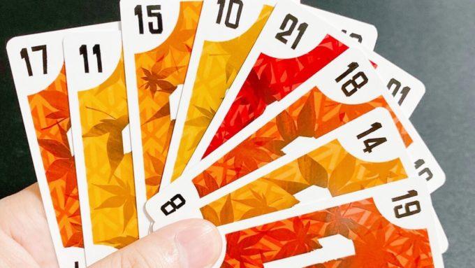 カードゲームのカウントアップ21