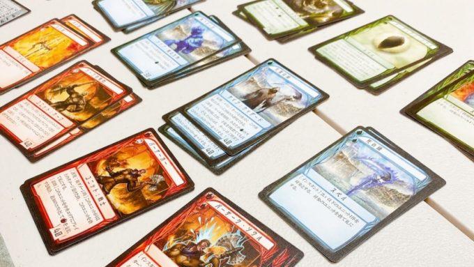 カードゲームのワールドリバイバー