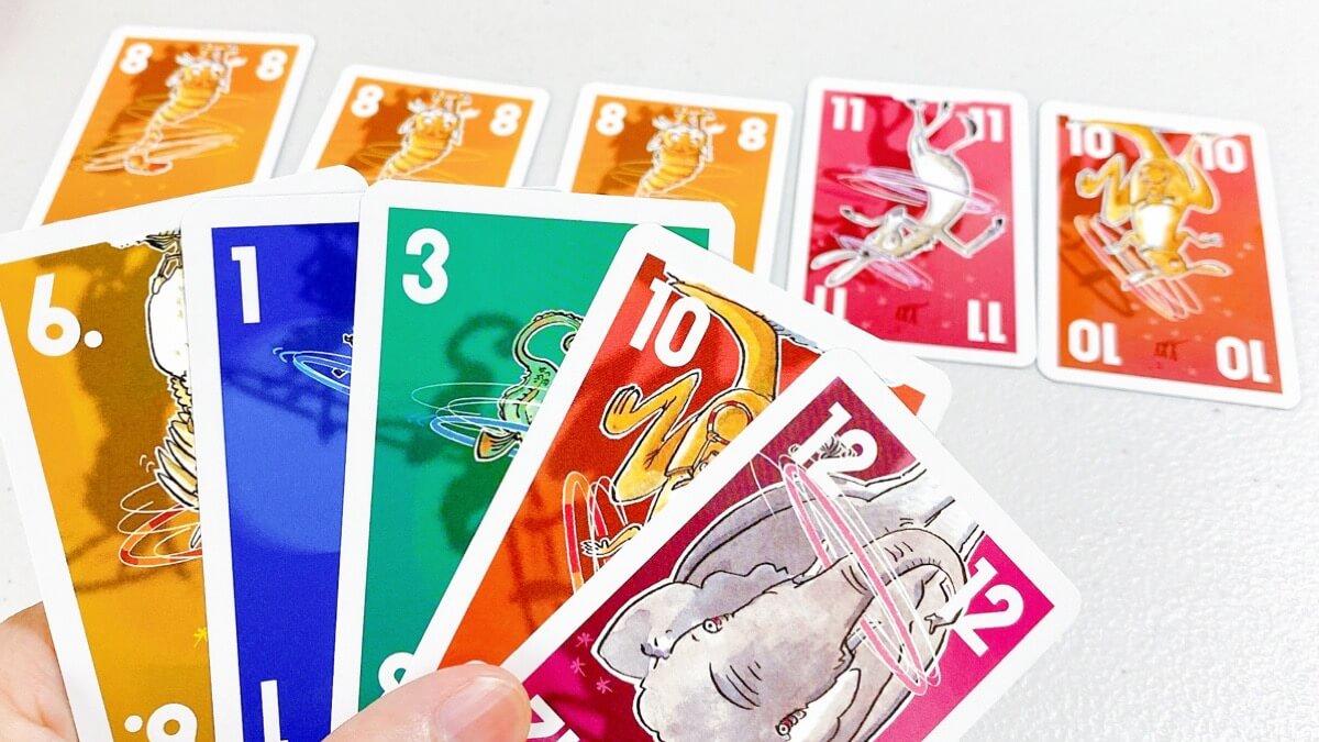カードゲームのフラフープ