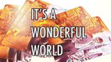 it's a wonderful world