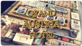 [ボードゲーム] グランド・オーストリア・ホテルを初プレイした感想