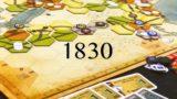 [ボードゲーム] 1830 紹介